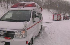 Восемь школьников погибли в Японии из-за схода лавины