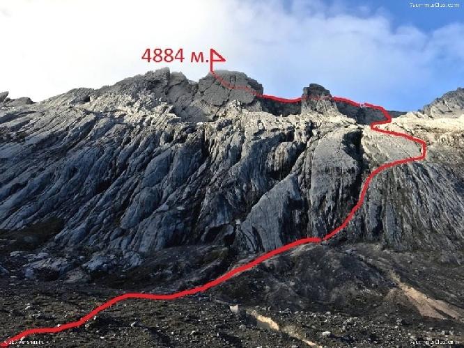 Пирамида Карстенз (Carstensz Pyramid, 4884 м) маршрут восхождения