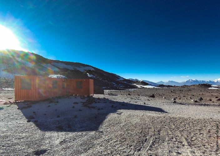 Приют Техос, 5830 м