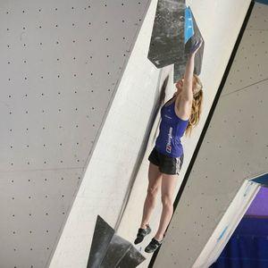 Шона Кокси и Кокоро Фуджи  - победители первого этапа Кубка Мира по скалолазанию 2017 года