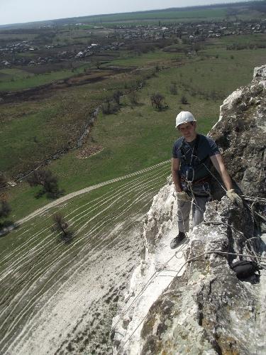 меловые скалы ландшафтного парка «Белокузьминовка»