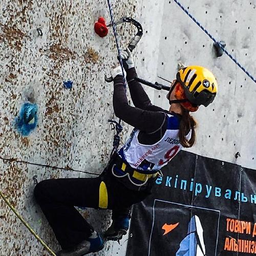 Чемпионат Украины по ледолазани
