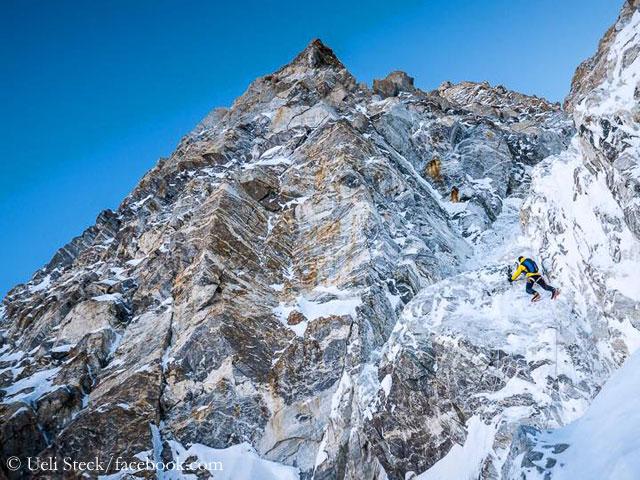 Попытка прохождения нового маршрута по Южной стене Шишапангмы в 2016 году Дэвидом Геттлером и Ули Штеком