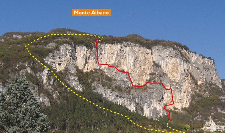 МОНТЕ АЛЬБАНО — «Феррата дель Монте Альбано»