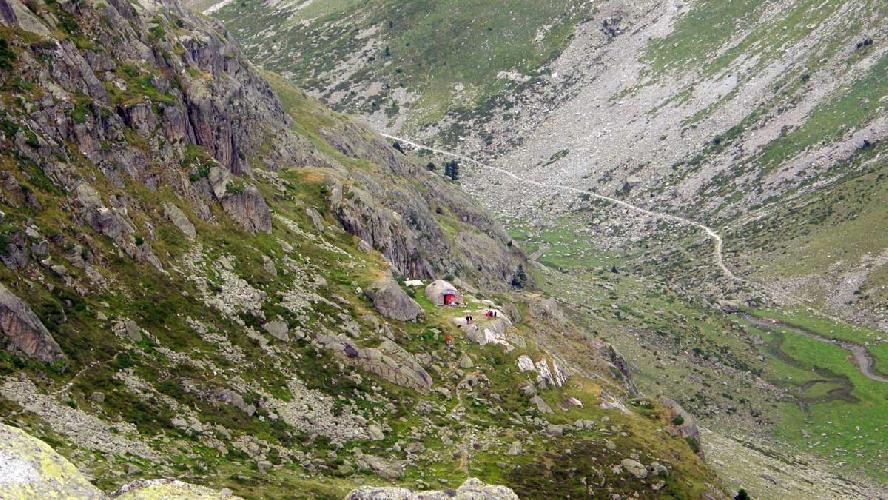 Хижина Ледорме (refuge Ledormeur)