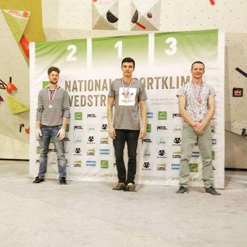 Сергей Топишко - победитель National Boulder Cup in Holland
