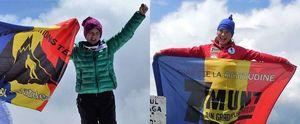 В лавине погибли рекордсменка мира, 14 летняя альпиниста Дор Джета Попеску и 12 летний рекордсмен Европы Эрик Гулачи