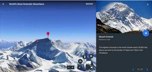 Обновленный сервис Google Earth представил новый виртуальный тур на Эверест
