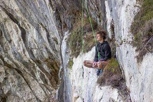 Адам Ондра открывает на скалах Италии очередной сложнейший в мире маршрут: