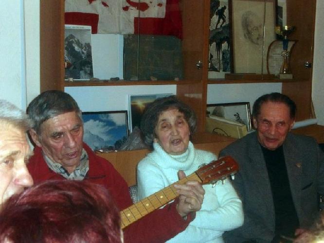 В Харьковском клубе альпинистов