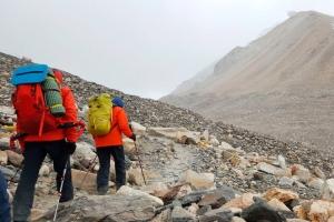 Экспедиция Валентина Сипавина на Эверест: восхождение к среднему лагерю на отметке 5800 метров
