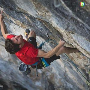 Штефано Гизольфи открывает свой второй маршрут на скалах Италии: