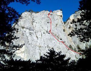 Новый альпинистский маршрут над самой Ялтой!