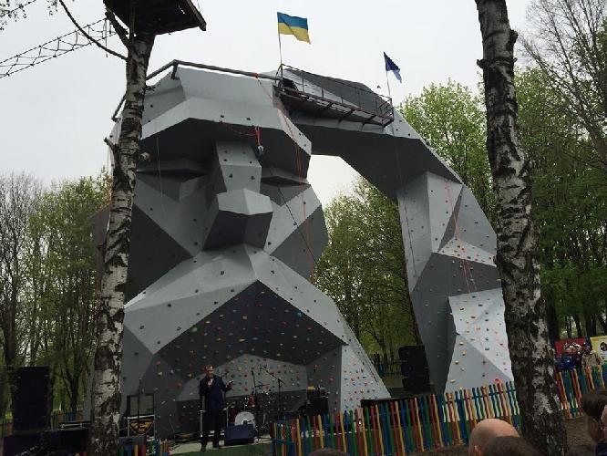 Скалодром в Ровно
