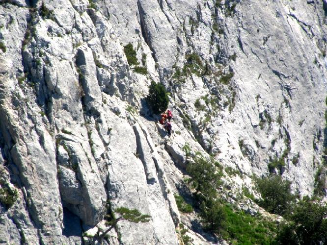 Спасательные работы на первом этапе Кубка России по альпинизму