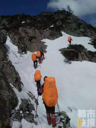 поход в горах Циньлин