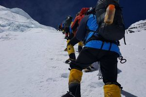 Экспедиция Валентина Сипавина на Эверест: выход на Северное Седло 7000 м.