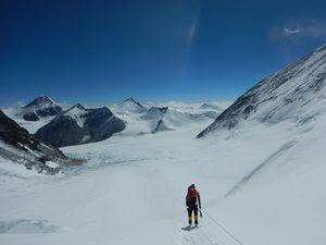 Экспедиция Игоря Грушко на Эверест: выход на Северное Седло 7300 м.