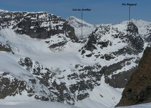Трое туристов погибли во французских Альпах