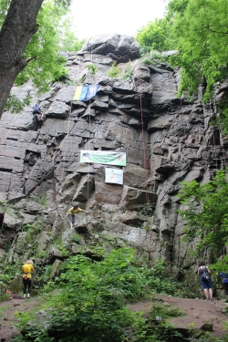 На скалах Житомирской области состоится Чемпионат Киева по скалолазанию среди ветеранов