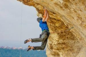 В Крыму проден самый сложный скалолазный маршрут