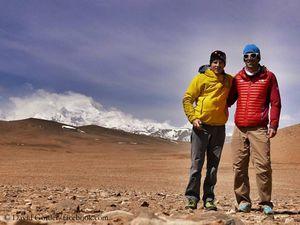 Дэвид Геттлер и Эрве Бармассе: 4 вопроса о попытке прохождения нового маршрута на восьмитысячнике Шишапангма