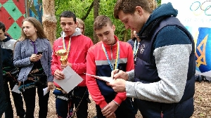 CUP IN VASILKIV OF ROCK-CLIMBING 2017