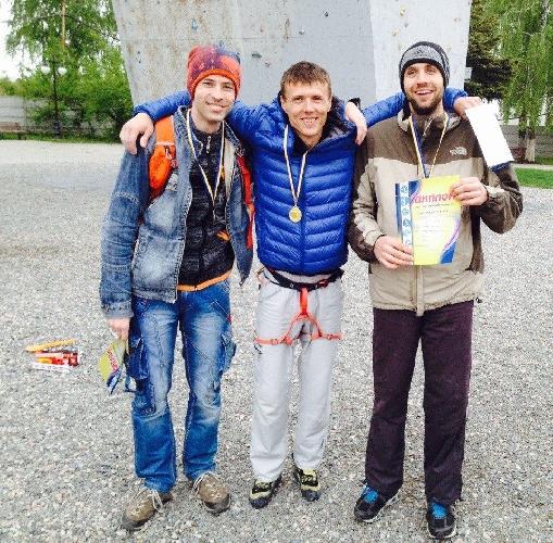 Чемпионат Харьковской области по скалолазанию