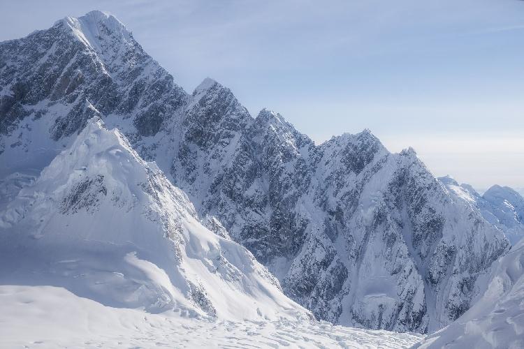 Южный гребень массива Хантингтона, Аляска