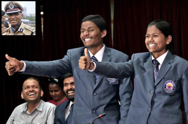 13-летняя Малават Пурна и 17-летний Саднапалли Ананд