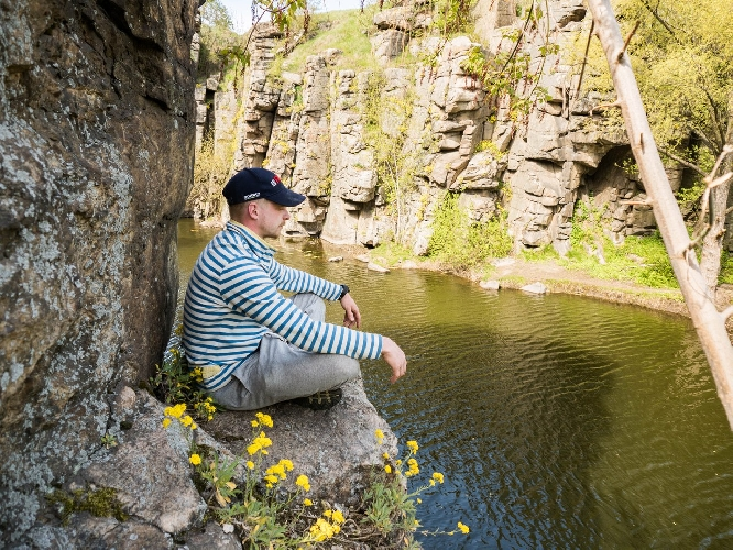 Скалолазание в Букском каньоне