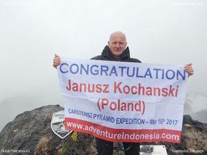 Польский альпинист Януш Коханьский установил рекорд скорости прохождения программы
