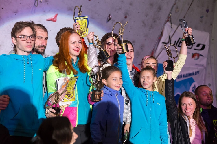 чемпионат Украины по скалолазанию 2017 года.