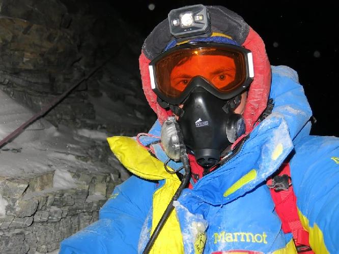 Ступени на Эверест.