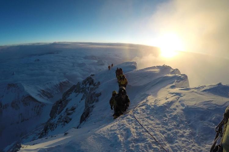 Долгожданная вершина 8848 м