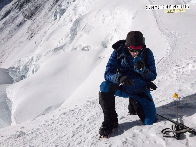 Килиан Джорнет (Kilian Jornet Burgada) на Эвересте
