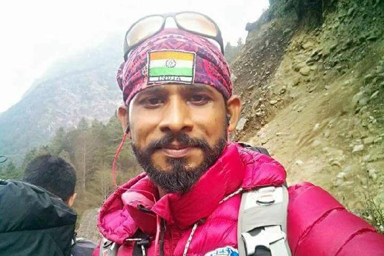 индийский альпинист Рави Кумар (Ravi Kumar)