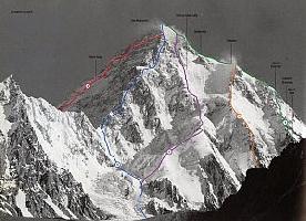 Первый в истории альпинизма спуск на лыжах с восьмитысячника К2 планируют на лето 2017 года Анджей Баргель и Даво Карничар
