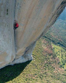 Новая страница в истории скалолазания: фоторепортаж с прохождения Алексом Хоннольдом маршрута
