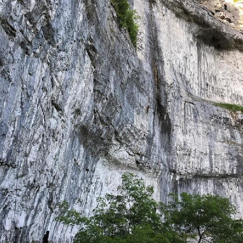 """project Malhalm"" 9b проект на сводах пещеры Malham Cave"