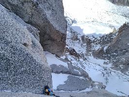 """Восхождение по маршруту """"Red Devils"""" на вершину пика Эгюий-дю-Миди (Aiguille du midi , 3842 м)"""