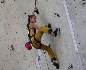 Украинская скалолазка Ника Потапова выиграла второй подряд этап молодёжного Кубка Европы!