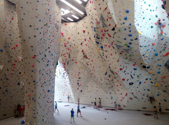 скалодром в Инсбруке