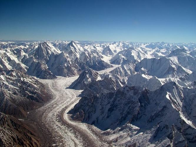 горы Каракорума (Пакистан)