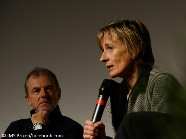 Нивес Мерой (Nieves Meroi) и ее муж Романо Бене (Romano Benet) на конференции IMS в 2006 году
