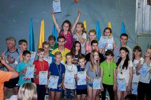 В Кременчуге завершился Чемпионат Украины по скалолазанию среди школьников