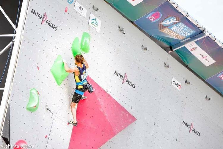 Фёдор Самойлов на этапе Кубка Мира в швейцарском Вилларе