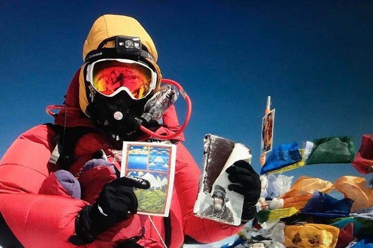 Вилборг Арна Гиссурардоттир ( Vilborg Arna Gissurardóttir ) на Эвересте