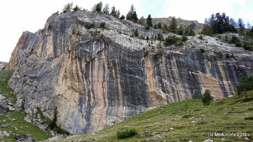 La Saume, сектор S2, 2150 м