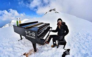 На вершине Альп состоялся «самый высокий в мире» фортепианный концерт